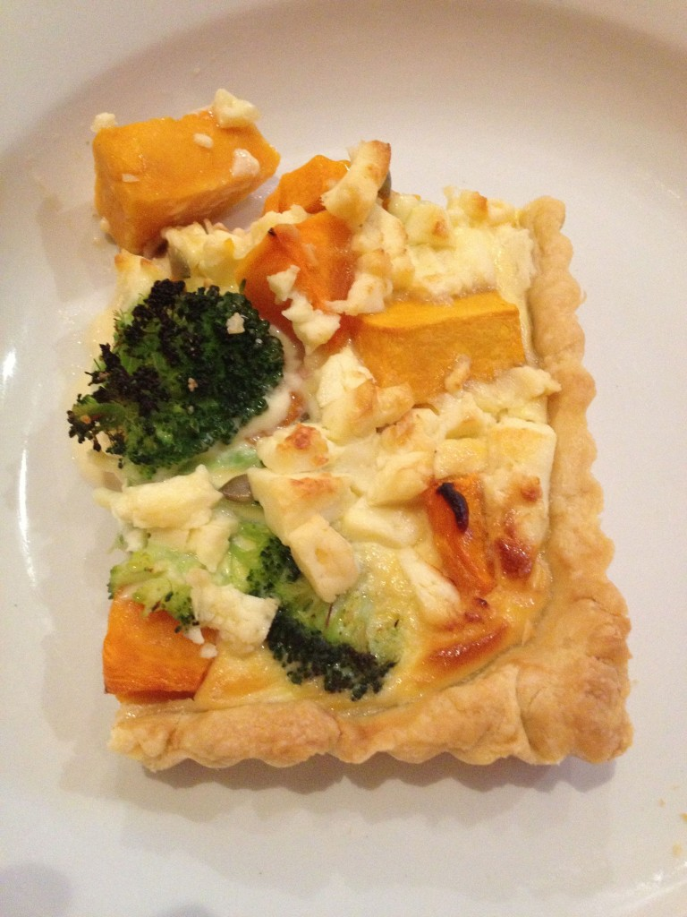 Roast Pumpkin tart