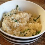 Recipe: Spinach and Goat's Cheese Risotto