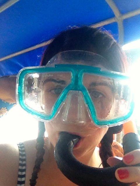 Isn't snorkelling attractive!