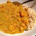 Recipe: Pumpkin and Chickpea Curry