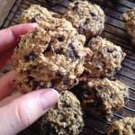 Recipe: Banana Choc-Chip Quinoa Flake Biscuits