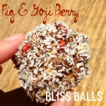 Recipe: Fig & Goji Berry Bliss Balls