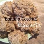 Recipe: Banana Coconut Biscuits