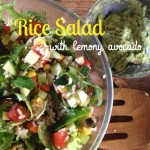 Recipe: Rice Salad with Lemony Avocado