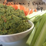 Recipe: Macadamia and Rocket Dip