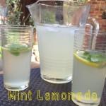 Recipe: Mint Lemonade