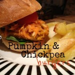 Recipe: Pumpkin and Chickpea Burgers