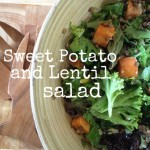 Recipe: Sweet Potato and Lentil Salad
