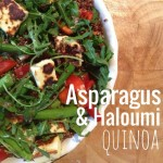 Recipe: Asparagus and Haloumi Quinoa Salad