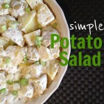 Recipe: Simple Potato Salad