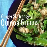 Recipe: Ginger & Orange Quinoa Greens