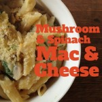 Recipe: Mushroom & Spinach Macaroni and Cheese