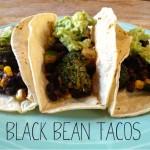 Recipe: Black Bean Tacos