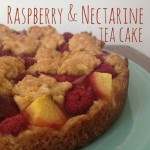 Recipe: Raspberry & Nectarine Tea Cake