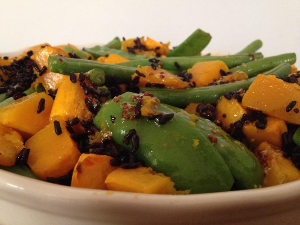 Pumpkin, Bean & Rice Salad