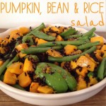 Recipe: Pumpkin, Bean & Rice Salad