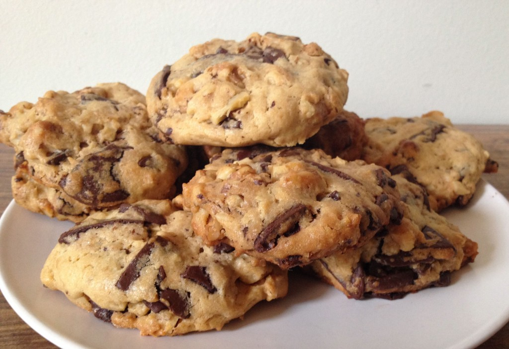 Chocolate & Walnut Cookies