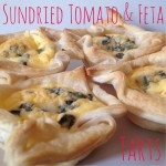 Recipe: Sundried Tomato & Feta Tarts