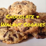 Recipe: Chocolate & Walnut Cookies