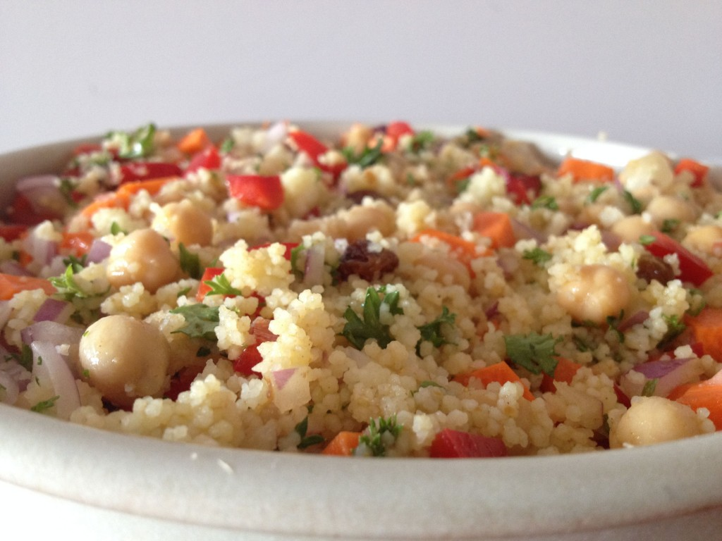 Couscous and Chickpea Salad