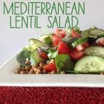 Recipe: Mediterranean Lentil Salad