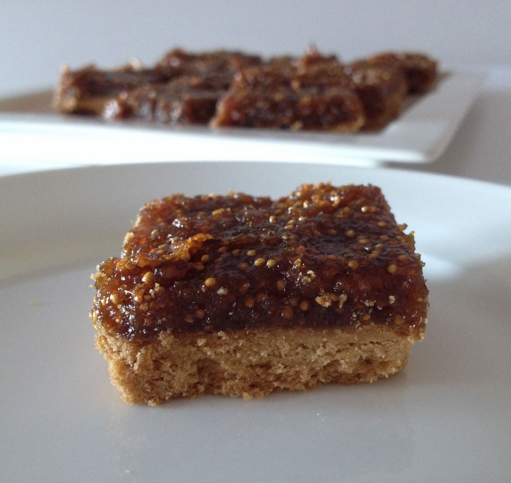 Fig & Cinnamon Slice
