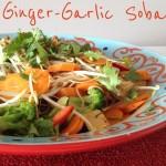 Recipe: Ginger-Garlic Soba