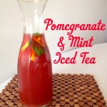 Recipe: Pomegranate & Mint Iced Tea