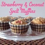 Recipe: Strawberry & Coconut Spelt Muffins