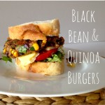 Recipe: Black Bean & Quinoa Burgers