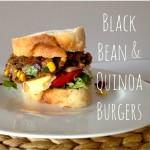 Recipe: Black Bean & Quinoa Burgers