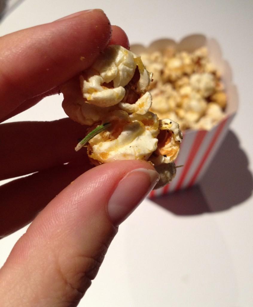 Garlic and Rosemary Popcorn