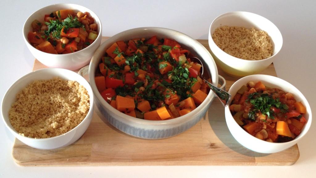 Sweet Potato & Chickpea Stew