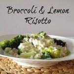 Recipe: Broccoli & Lemon Risotto