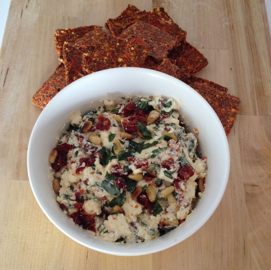Sundried Tomato and Ricotta Dip