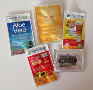 Sample sachets