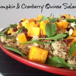 Recipe: Pumpkin & Cranberry Quinoa Salad