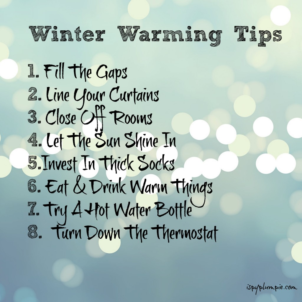 Winter Warming Tips