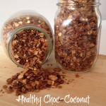 Recipe: Healthy Choc-Coconut Granola