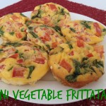 Recipe: Mini Vegetable Frittatas