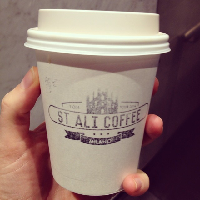 Meeting on Collins St means coffee from St Ali at @rueandco. Monday is going a-ok #coffee #stali #rueandco