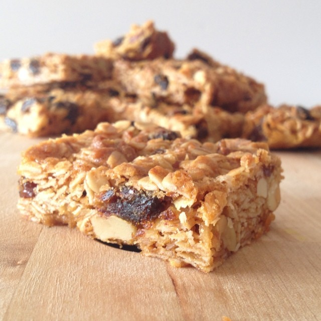New post on I Spy Plum Pie today - Fruit & Oat Slice! The perfect snack to fuel your workday! #ontheblog #snack #fruit #oat #slice #mealforameal #meatlessmonday