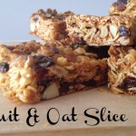 Recipe: Fruit & Oat Slice