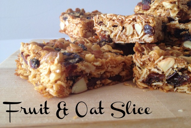 Fruit and Oat Slice