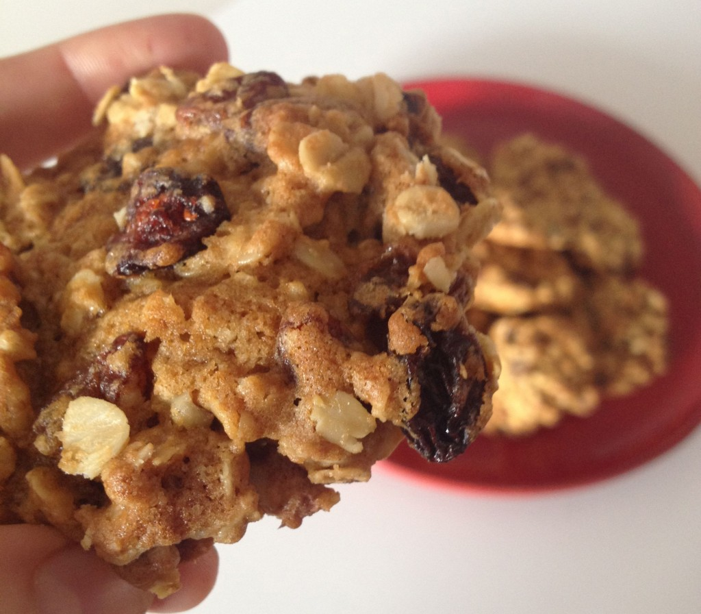 Raisin, Oat & Walnut Cookies