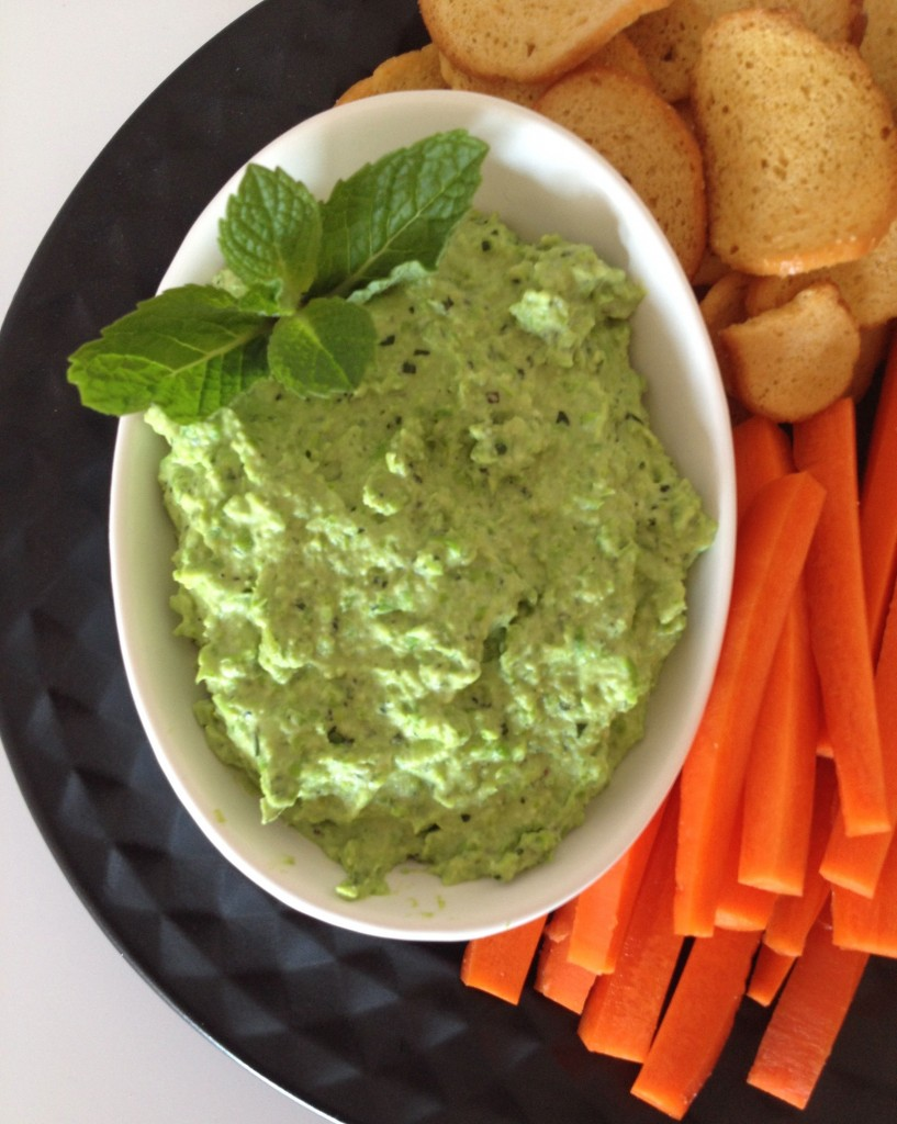 Pea and Mint dip