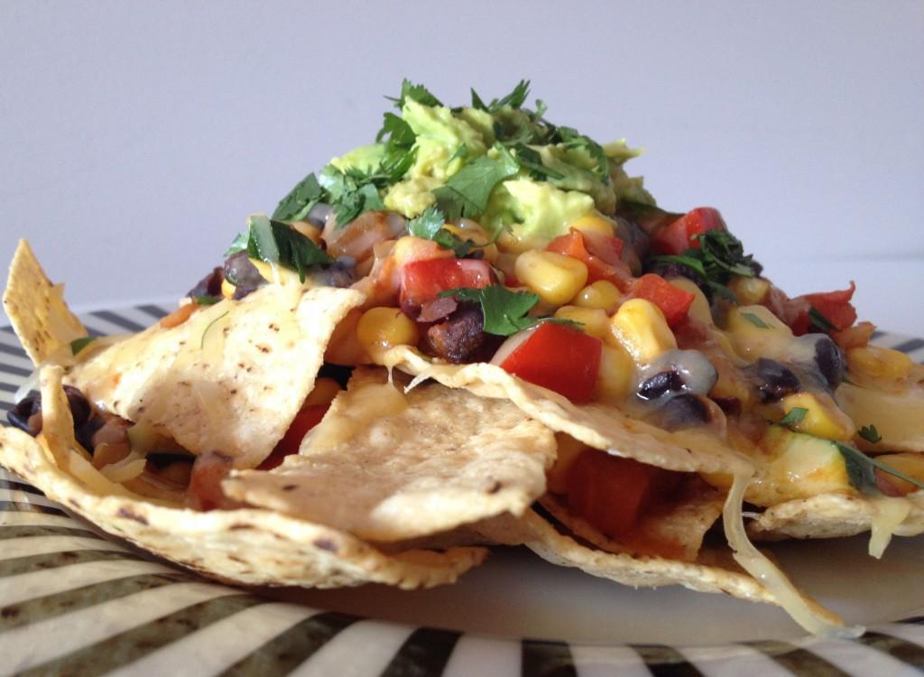 Healthy Vegetarian Nachos