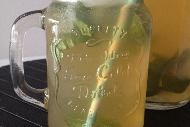 Mint & Ginger Iced Tea