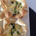Recipe: Zucchini, Pea & Feta Tarts