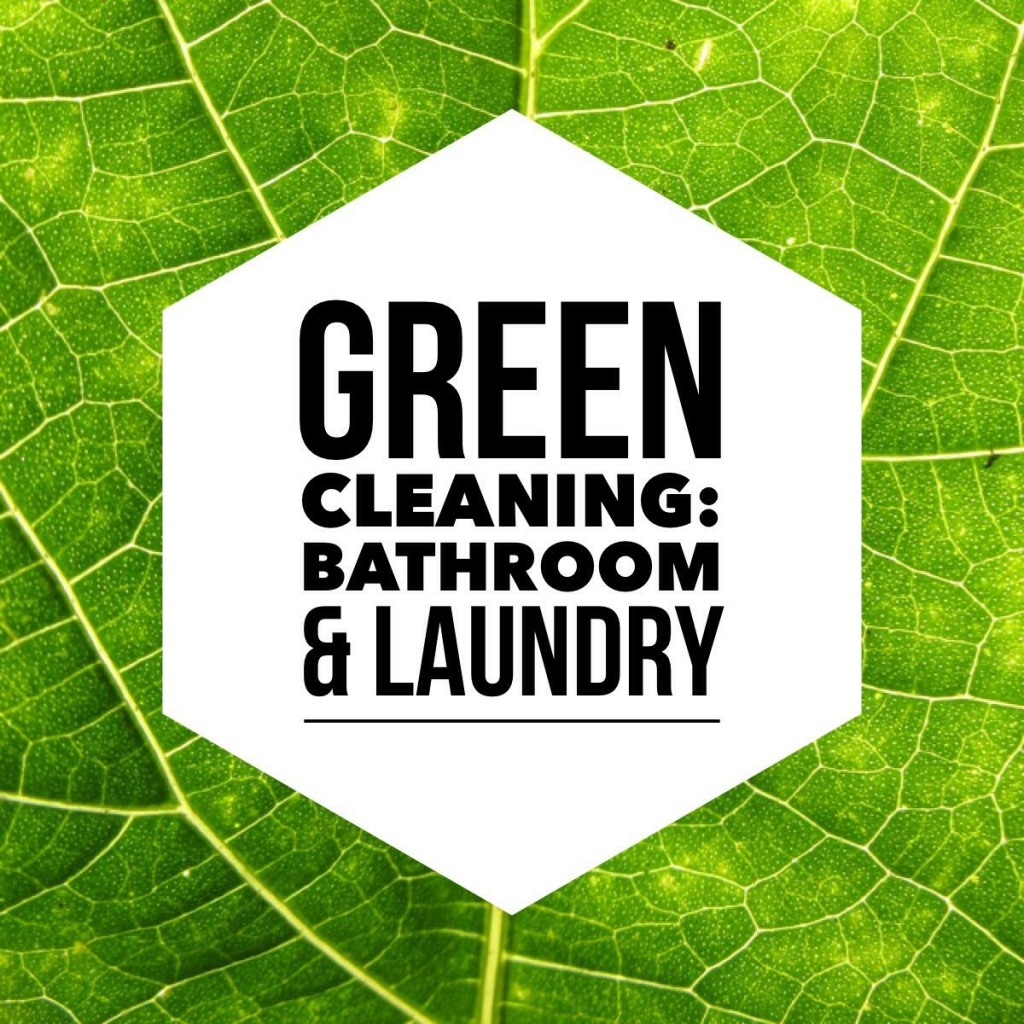 Green Cleaning Bathroom & Laundry